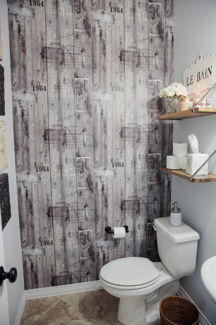 Powder Room Decor   Powder room ideas   Wallpaper Ideas   Uptown with Elly Brown