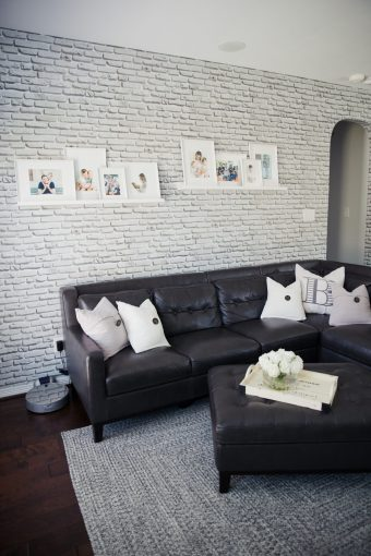 Living Room Reveal with Walls Need Love