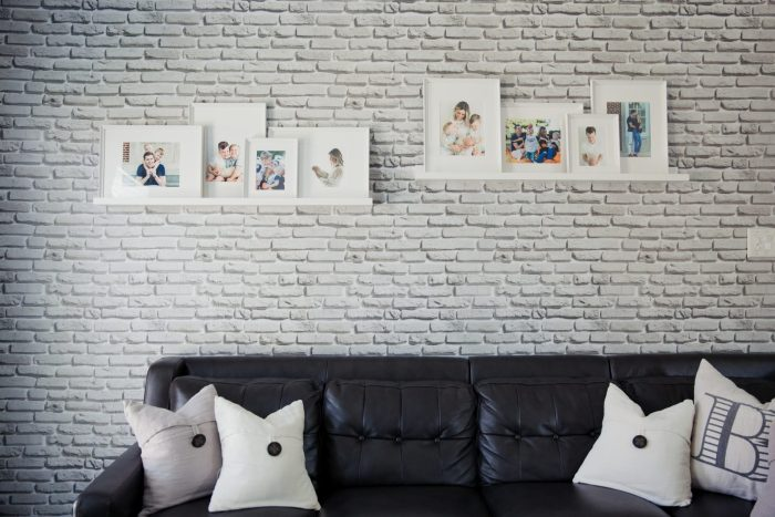 Walls Need Love wallpaper | Living room decor | Decor inspo | Living room inspo | Uptown with Elly Brown