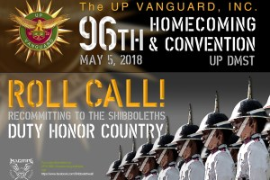 96th UP Vanguard Annual Convention and Homecoming