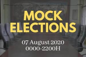 UPVI Mock Elections 2020