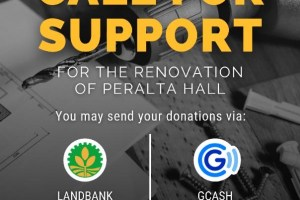 Call for Support for the Renovation of Peralta Hall