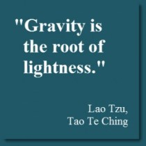 Lao quote for up with gravity