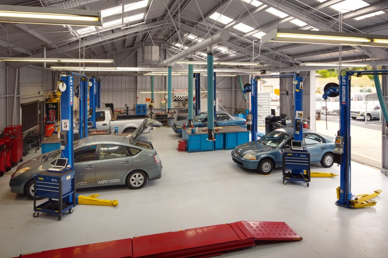 What To Consider When Designing Auto Repair Shop Layout Upwixcom