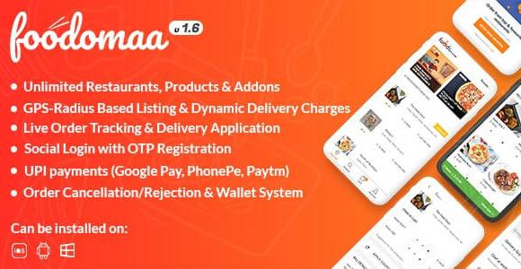 foodomaa nulled script download