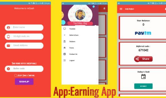 Earning apps AIA file
