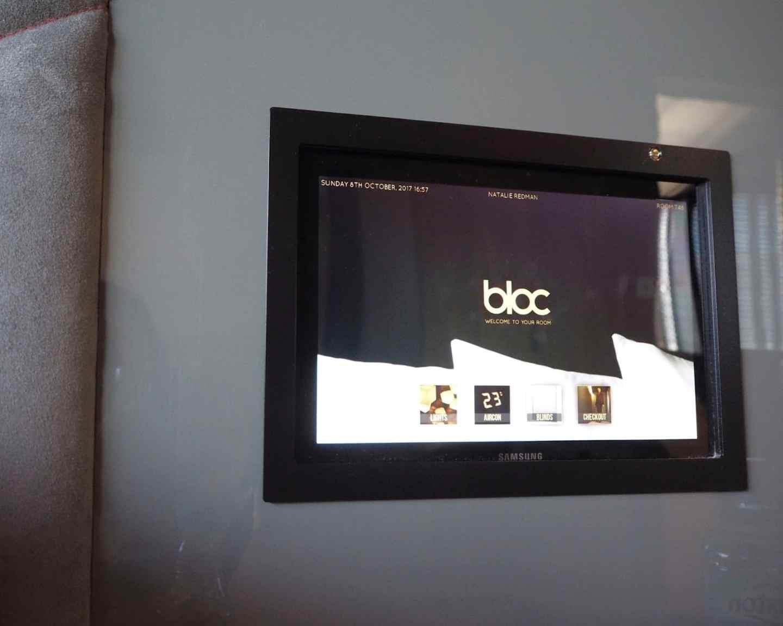 Bloc Hotel Control Panel