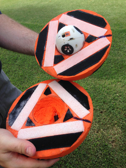 Robotic soccer ball set to make sport more accessible UQ