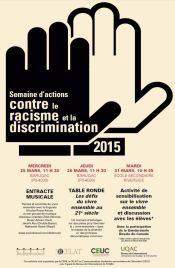 Affiche Racisme et Discrm