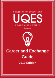 Cover page of UQES Careers Guide 2019
