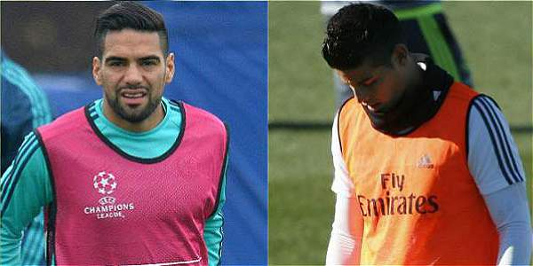 Falcao y James, dos dramas que preocupan a la Selección