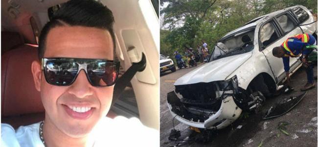 Murió el cantante Martín Elías en accidente de tránsito