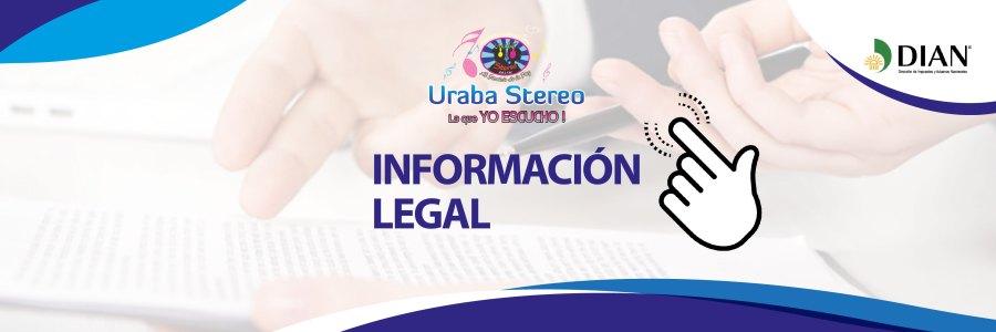 Información Legal Urabá Stereo