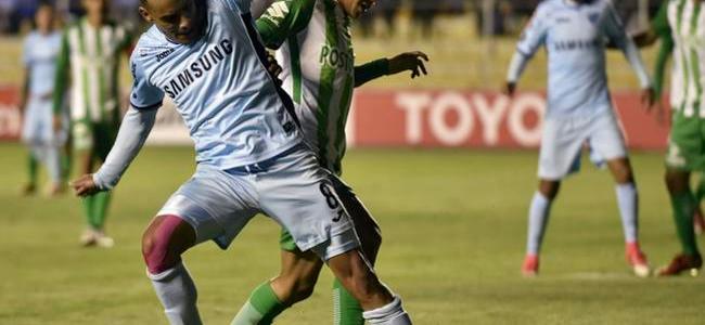 Atlético Nacional perdió ante Bolívar en La Paz por Copa Libertadores