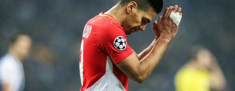 Falcao sufre lesión muscular y no jugará el domingo con Mónaco