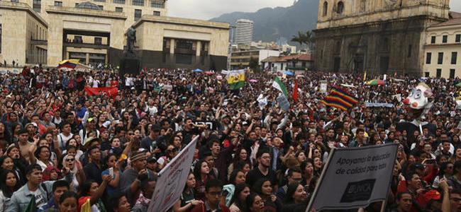 Oct 16:16 Estudiantes de universidades públicas entran a paro indefinido desde este jueves