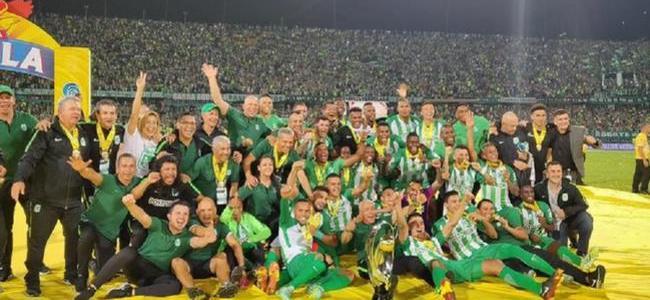 Nacional se corona campeón de Copa Colombia y asegura cupo a la Libertadores 2019