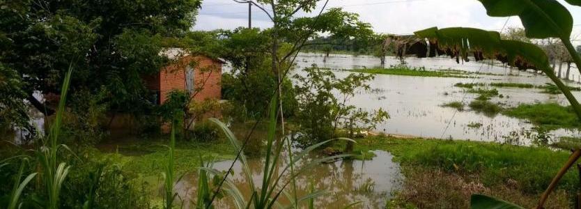 Lluvias inundaron seis veredas de Chigorodó, Antioquia