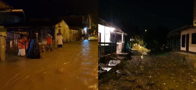 Creciente de río genera emergencias en Apartadó