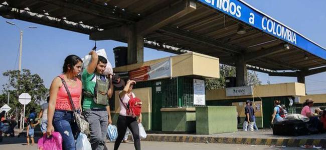 Colombia cierra sus fronteras terrestres y fluviales por paro nacional de este jueves