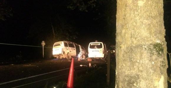 Fatal accidente nocturno en la vía a Urabá