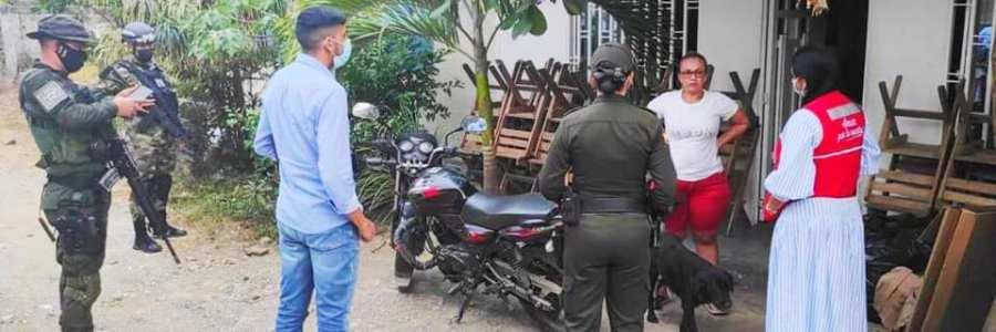 Alcaldía de carepa   y autoridades  adelantan campañas de sensibilización