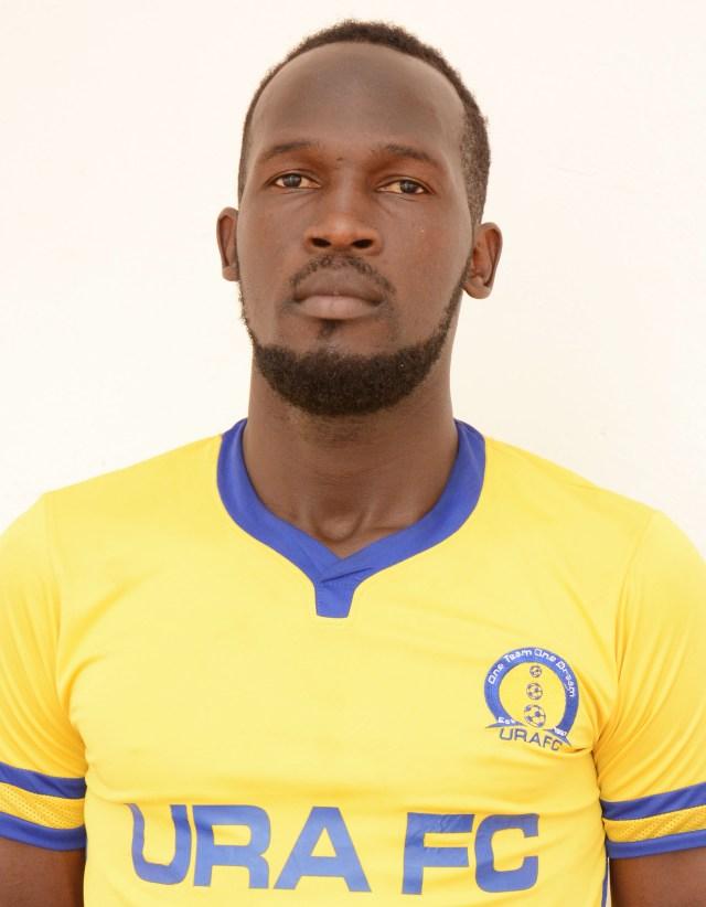 """Résultat de recherche d'images pour """"Uganda Revenue Authority (URA) holding midfielder Siraje Ssentamu."""""""