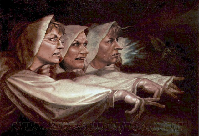 Essay/Term paper: The role of the three witches in macbeth as generators of ima