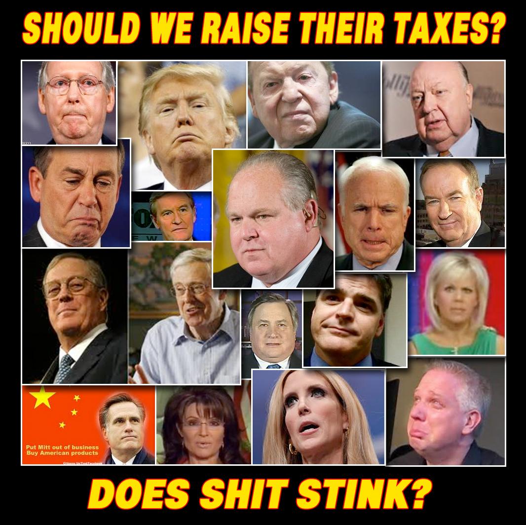 Should We Raise Their Taxes?