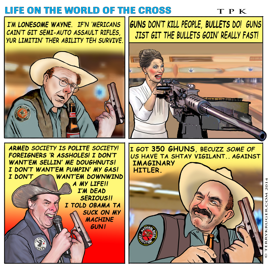SPECIAL STUPID: GUN NUT EDITION