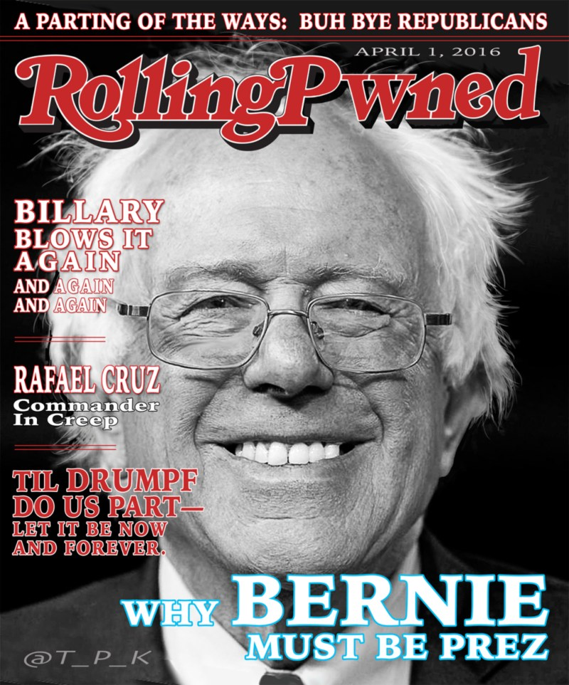 RollingPwned: Why Bernie Must Be Prez