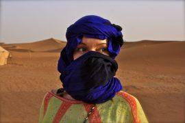 Marokko Sahara kameliratsastus