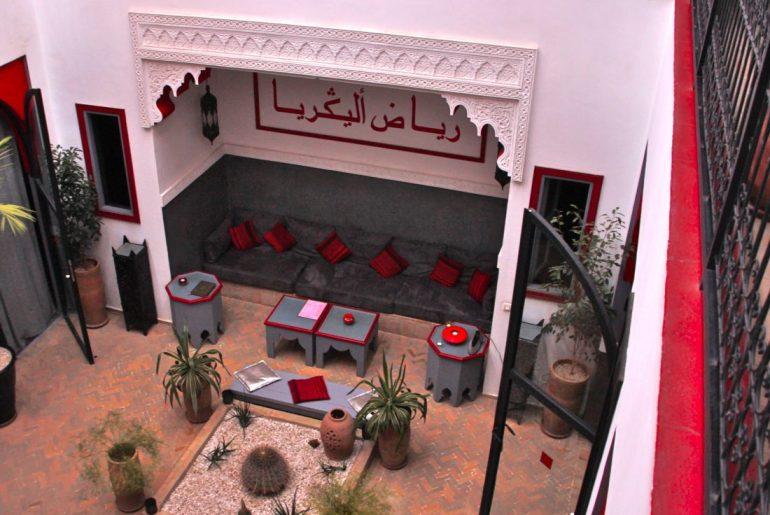 Majoitus Marokossa