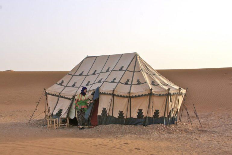 glamping Sahara