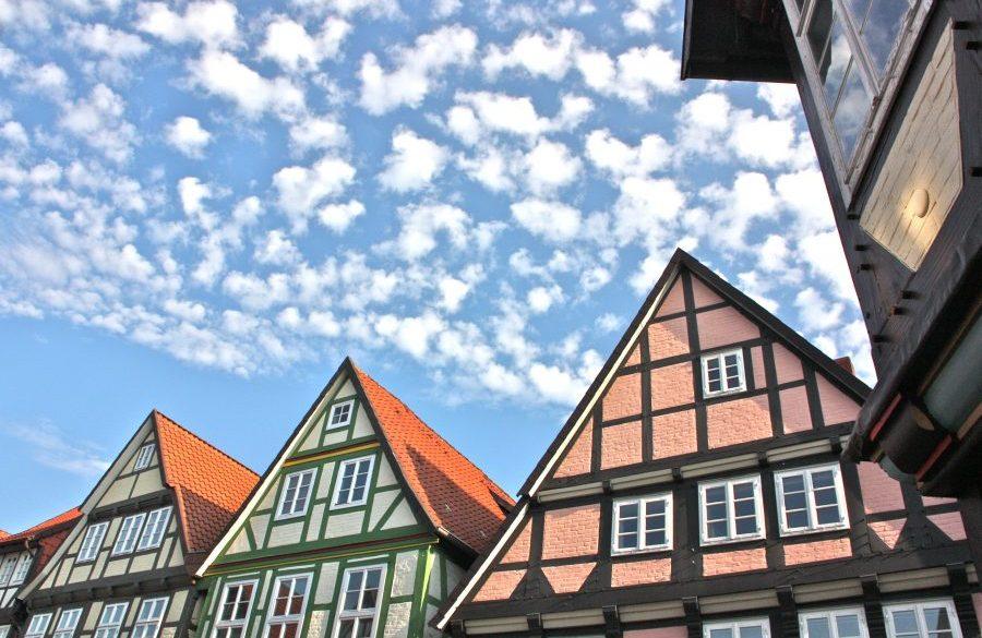 Pohjois-Saksan Celle on koti sadoille puutaloille