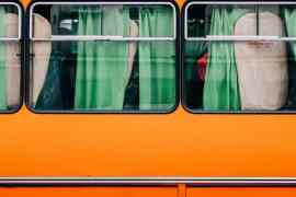Bussilla Euroopassa
