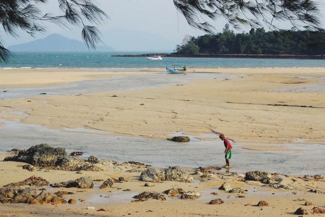 rauhallinen Saari thaimaa