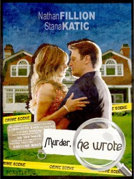 Castle 5.04 Murder He Wrote Poster