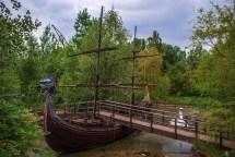 pirate ship in Plänterwald
