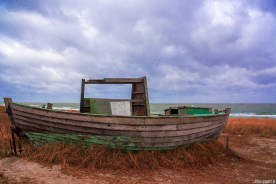old boat @ Baltic Sea