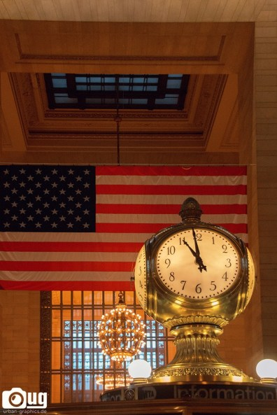 In Grand Central Station