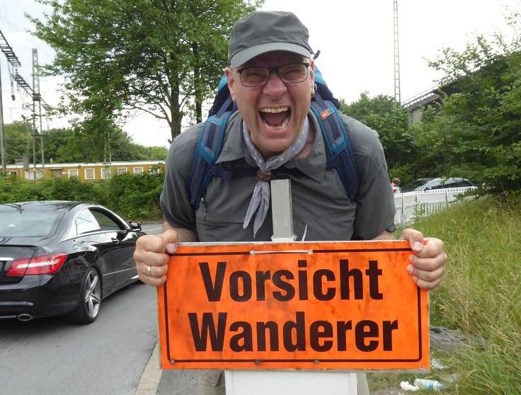 Jürgen Brennert der Urban Hiker