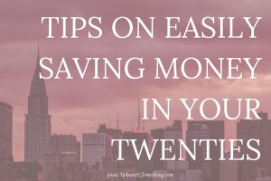 It can be discouraging to start saving money in your twenties because we don't always make a lot of money and saving can feel moot. That's why in your twenties, the most important thing is about building habits. Click through to learn easy ways to build it.