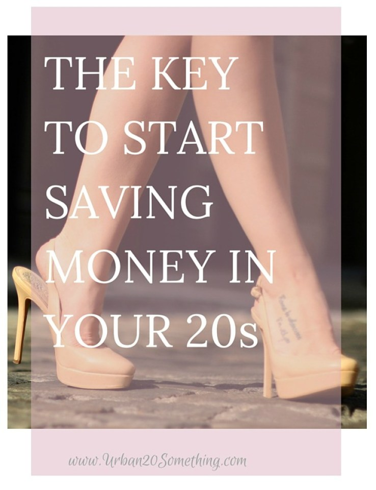 The essential key to saving money in your 20s- adapt this tip and you'll be in an automatically better shape for personal saving.