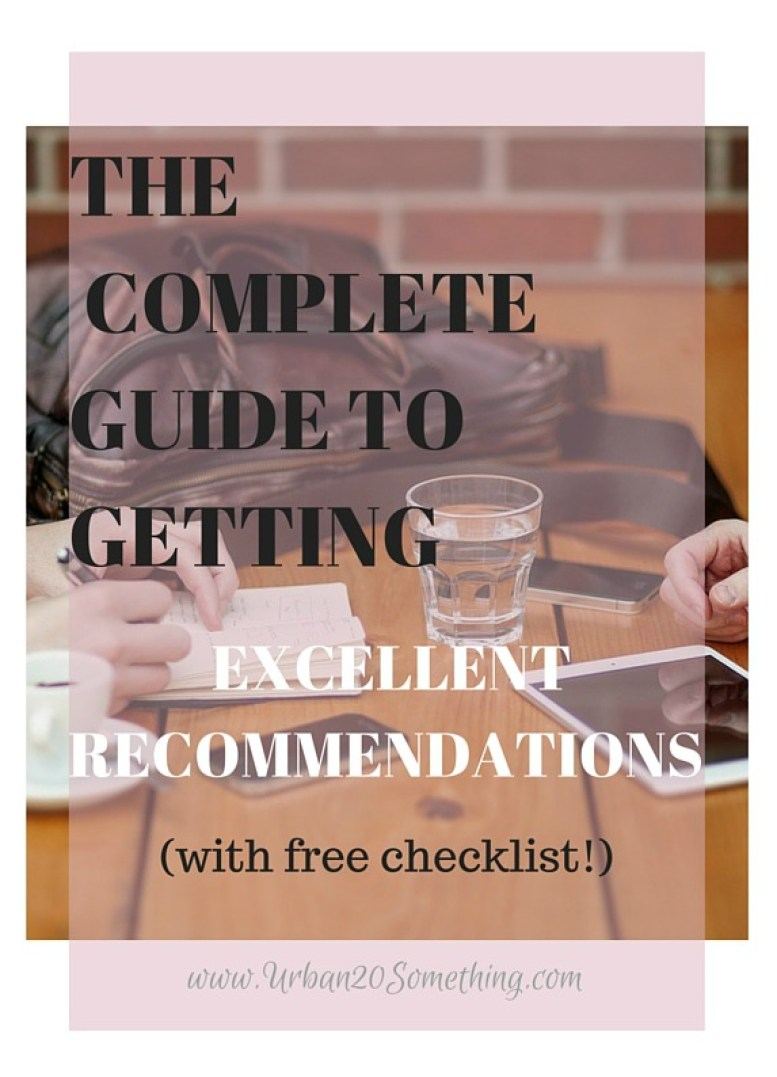 Whether you're applying to a job, graduate school, a fellowship, or any application, your recommendations are important. The good news is, there's plenty you can do to boost your recommendation quality and ensure they're the best they can be! Click here to find out (with a free checklist included)!
