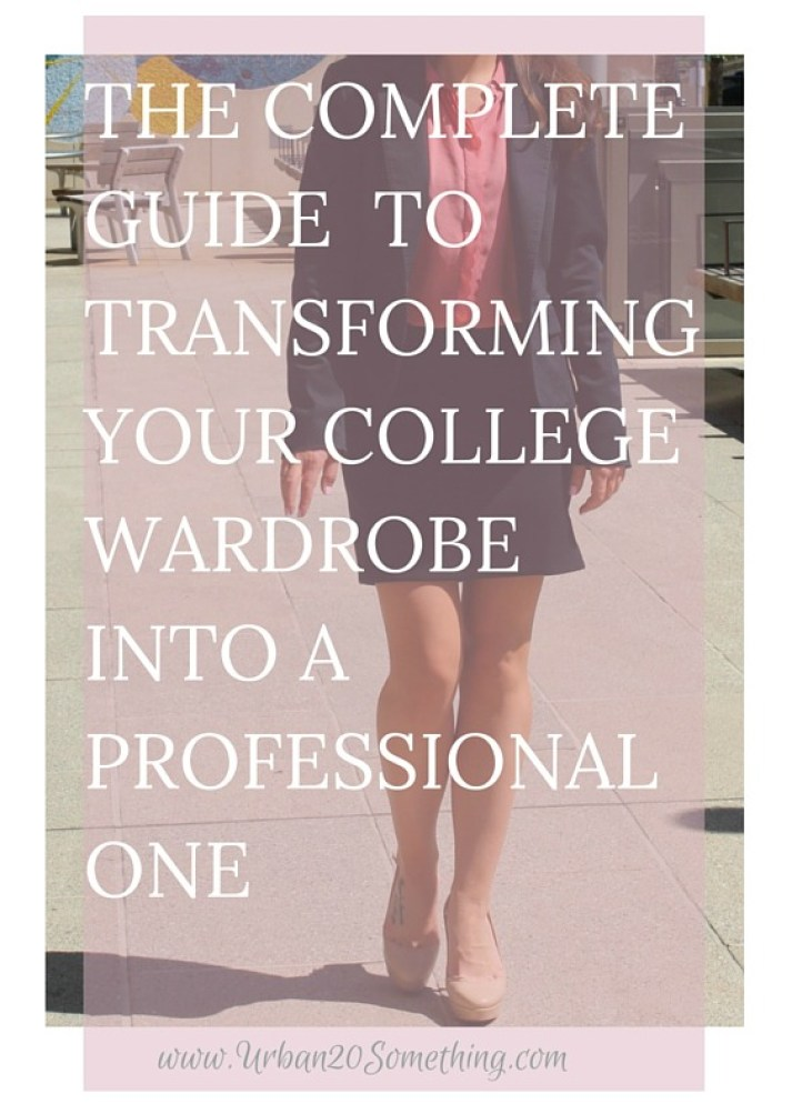 How to Completely Transform your Existing Wardrobe Into a Professional Wardrobe- Complete with Free Printable Guide