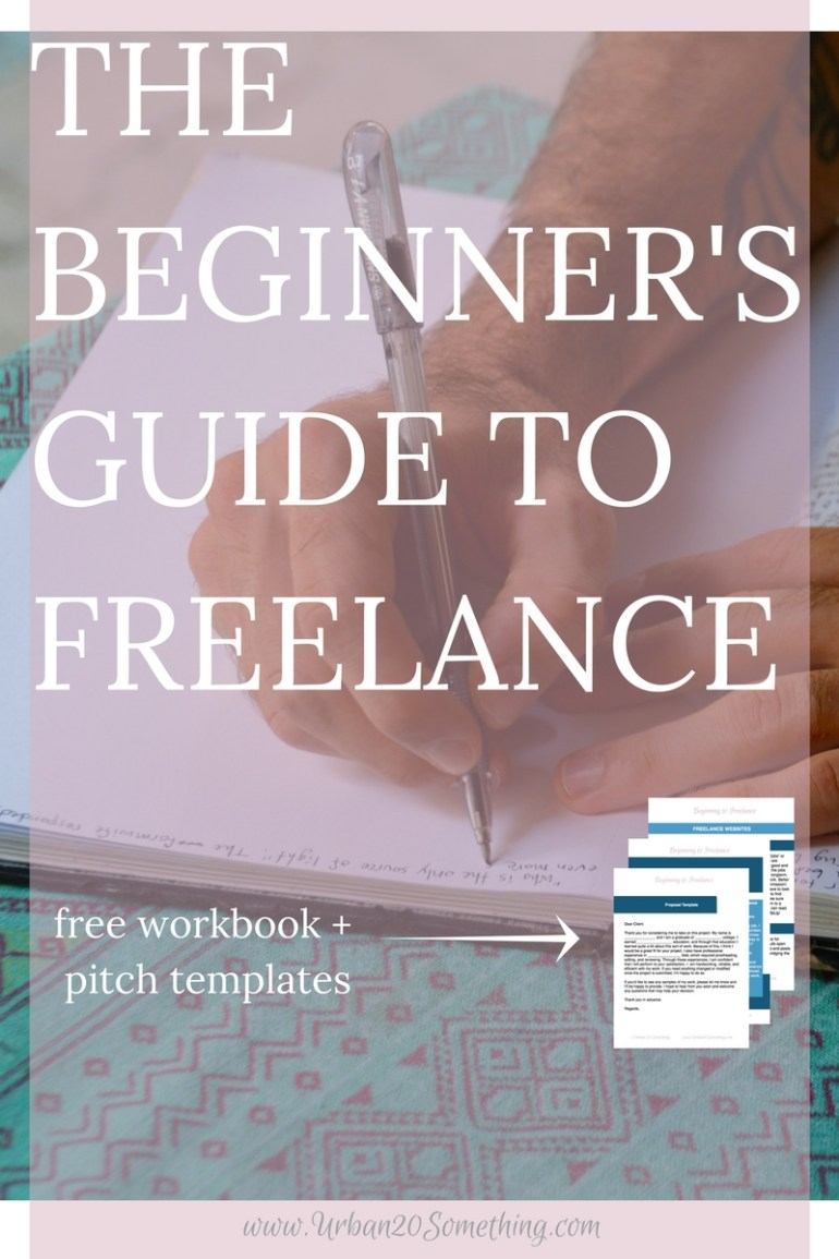 Do you want to freelance but feel like you don't know where or how to begin? Everyone was a beginner at one point. Click through for your step-by-step guide on exactly how to land your first job and keep the jobs coming! Comes with free freelance guide with websites, spreadsheets, and tips.