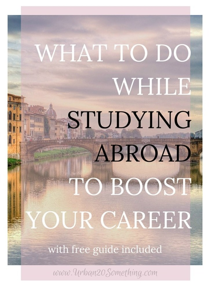 Are you planning on spending a semester abroad or have you already done so? In this three part series, I completely cover how to use study abroad to maximize your career before, during, and after your trip. Studying abroad is a once in a lifetime experience and offers tons of career benefits. Click through to make sure you're snatching those benefits up! Free resources and guides are included :)