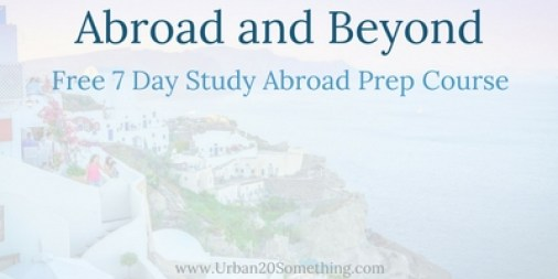 The opportunities that can come with study abroad are endless and preparing properly will increase your chances of finding those opportunities a ton. Click through to take this FREE seven day challenge that'll help you prepare to study abroad.