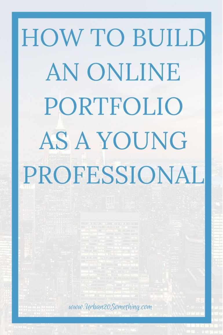 All young professionals should have personal websites and online portfolios- click through to find out how to build your very own!